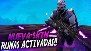 "NUEVA SKIN ""SANTUARIO"" & RUNAS ACTIVADAS!!! | Fortnite Battle Royale | Rubinho vlc"