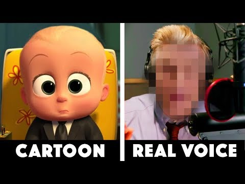 10 Real Voices Behind Famous Cartoons!