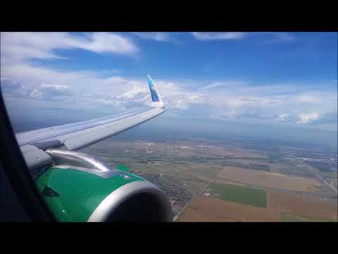 Frontier Airlines Airbus A320neo - Los Angeles to Denver