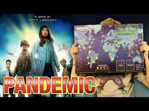 Краткий обзор настольной игры Пандемия (Pandemic)