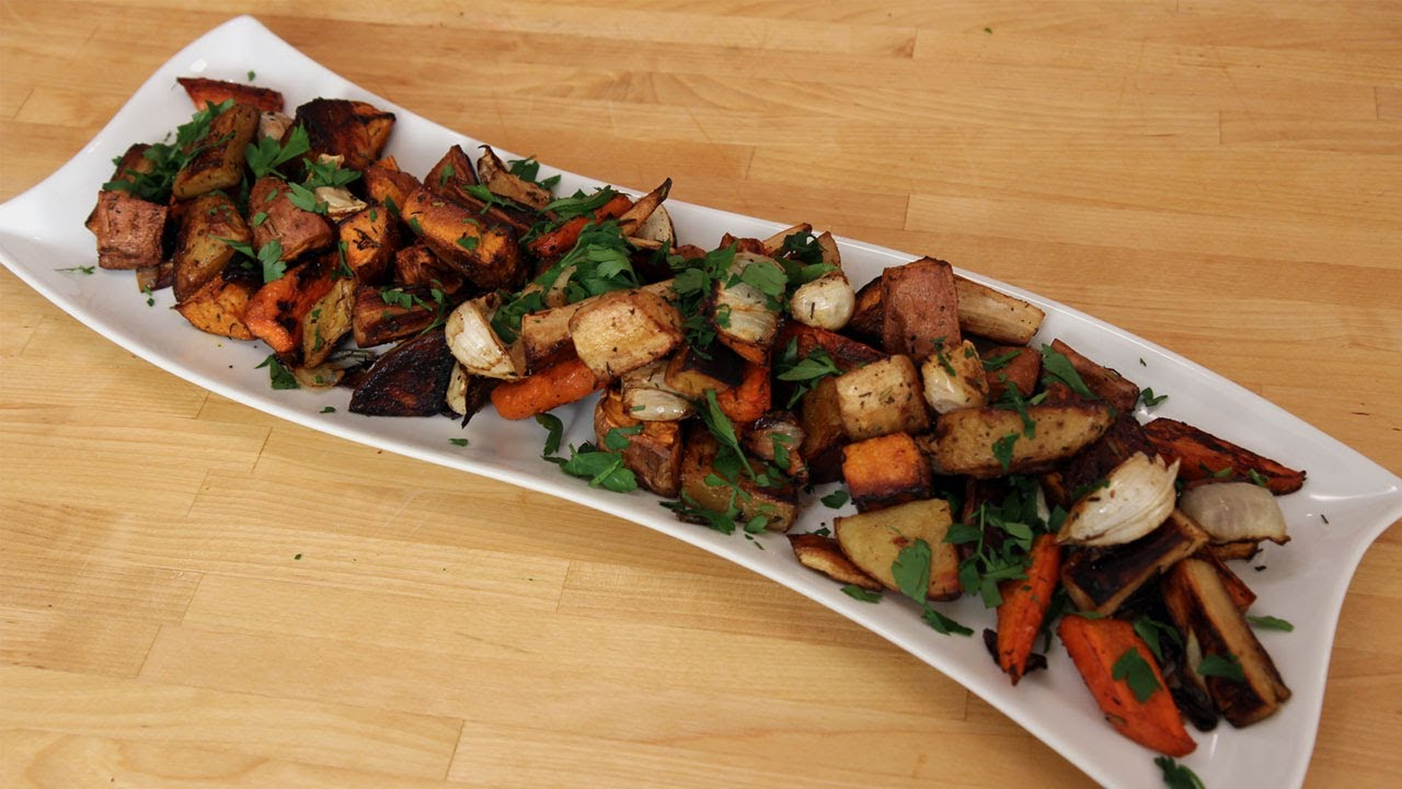 Roasted Winter Root Vegetables - Recipe by Laura Vitale - Laura in the ...