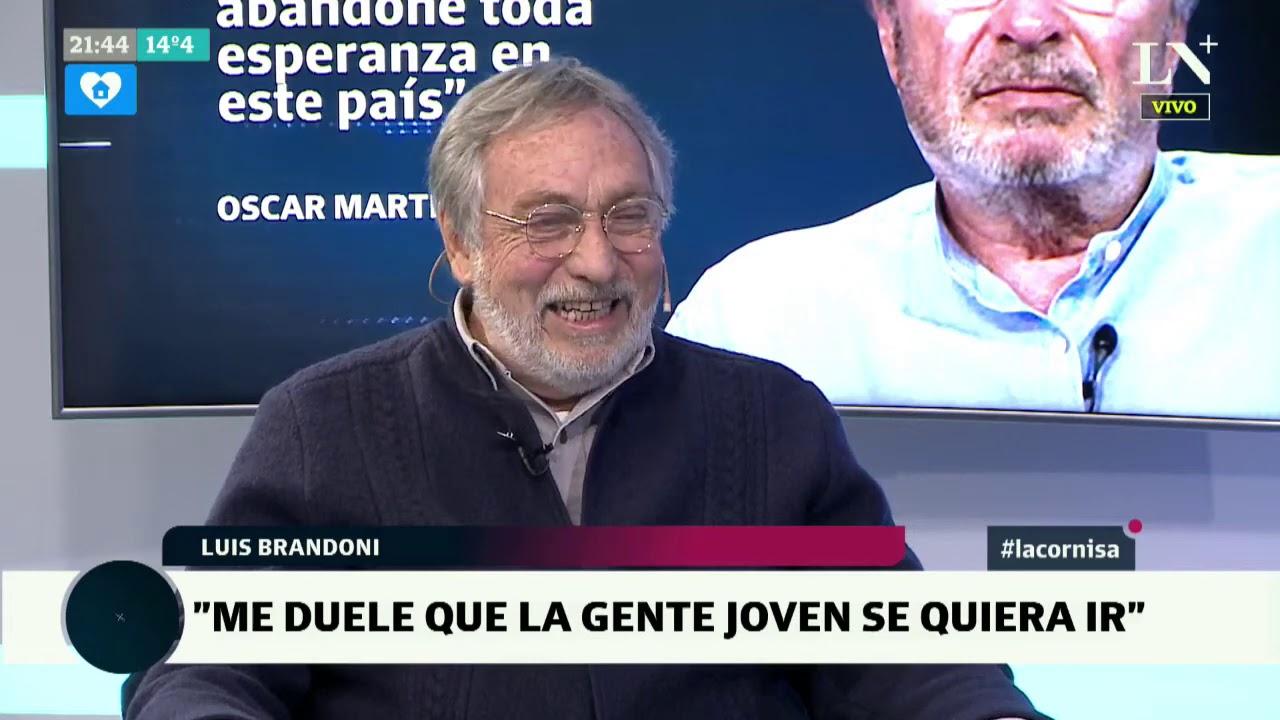 """Luis Brandoni en La Cornisa: """"Me duele que los jóvenes se quieran ir del país"""""""