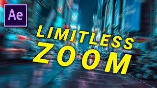 SUPER FACILE Infini Zoom - AFTER EFFECTS (sans limites)