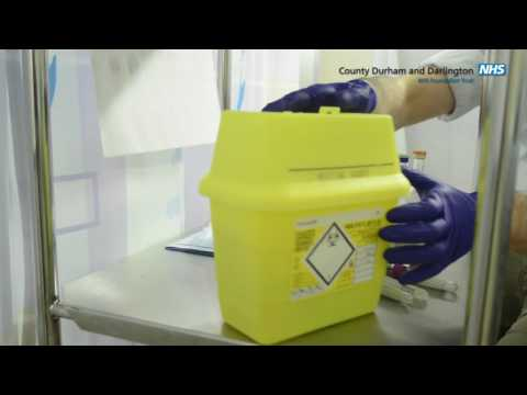 County Durham and Darlington NHS Foundation Trust - Blood Culture Training video.