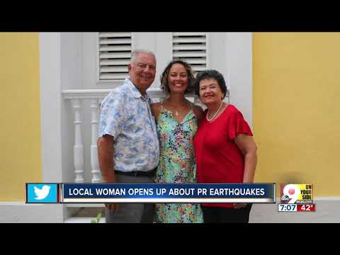 Cincinnati woman shares fear about earthquake in her native Puerto Rico