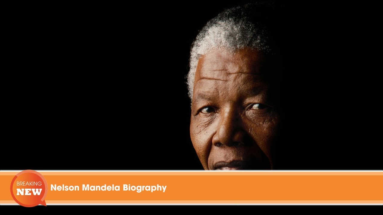 "a very brief biography of nelson mandela Nelson mandela, whose activism made  disbanding the anc's inactive guerrilla operation and mr mandela saying that the president ""has very little."