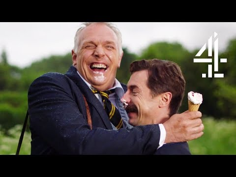 Greg Davies & Roisin Conaty Absolutely Lose It! | Man Down (Bloopers)