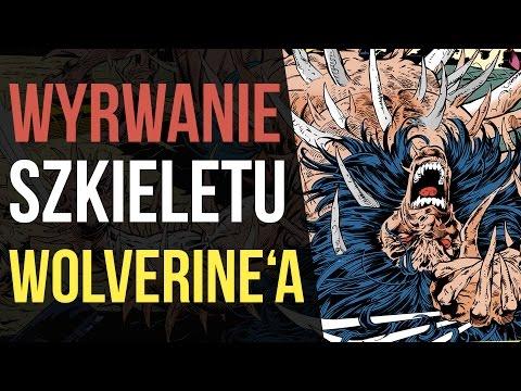 Magneto wyrywa szkielet Wolverine