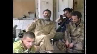 Грузино-абхазская война 1992-93 г. Армянский батальон.Часть-2. 480p.