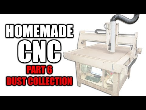 Homemade CNC Router Part 6 - Dust Collection