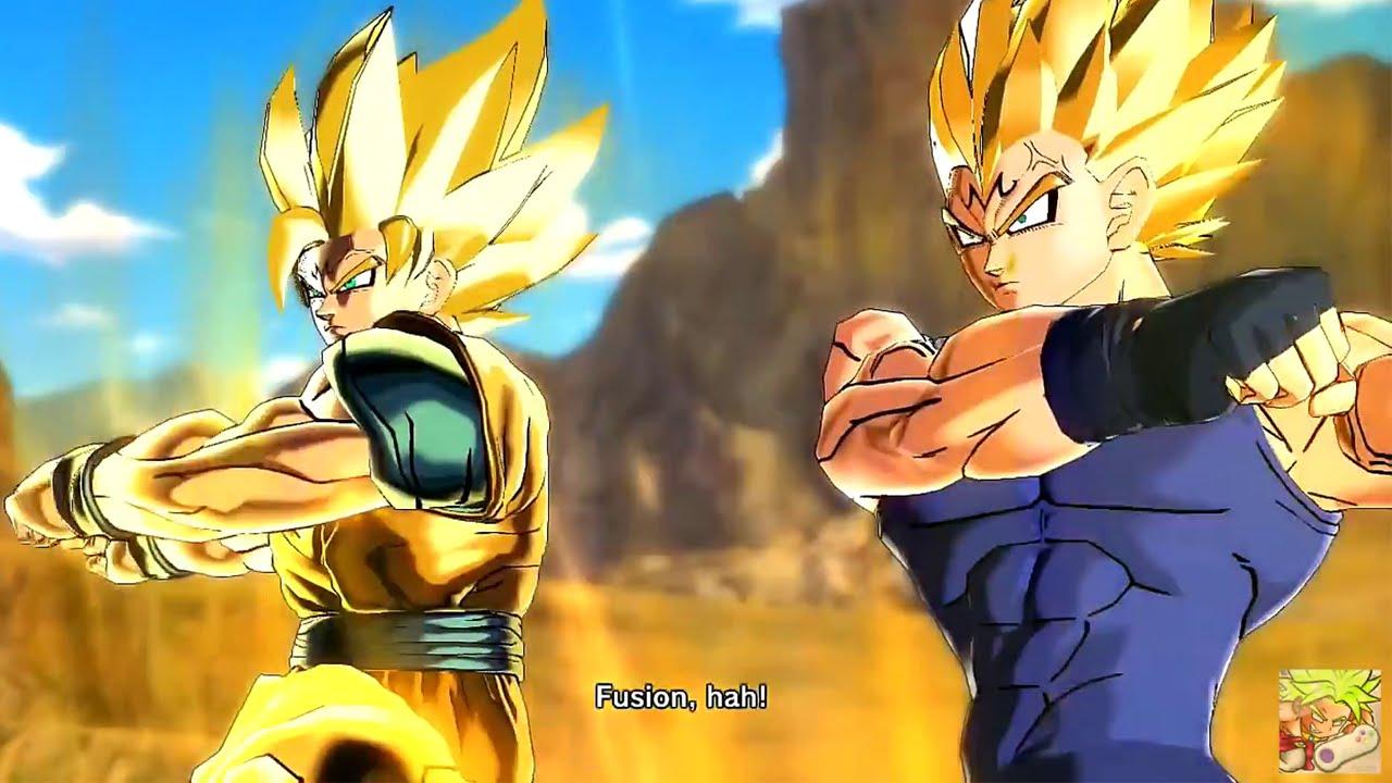 Majin Vegeta and Majin Goku Fusion (MOD) Dragon Ball ...