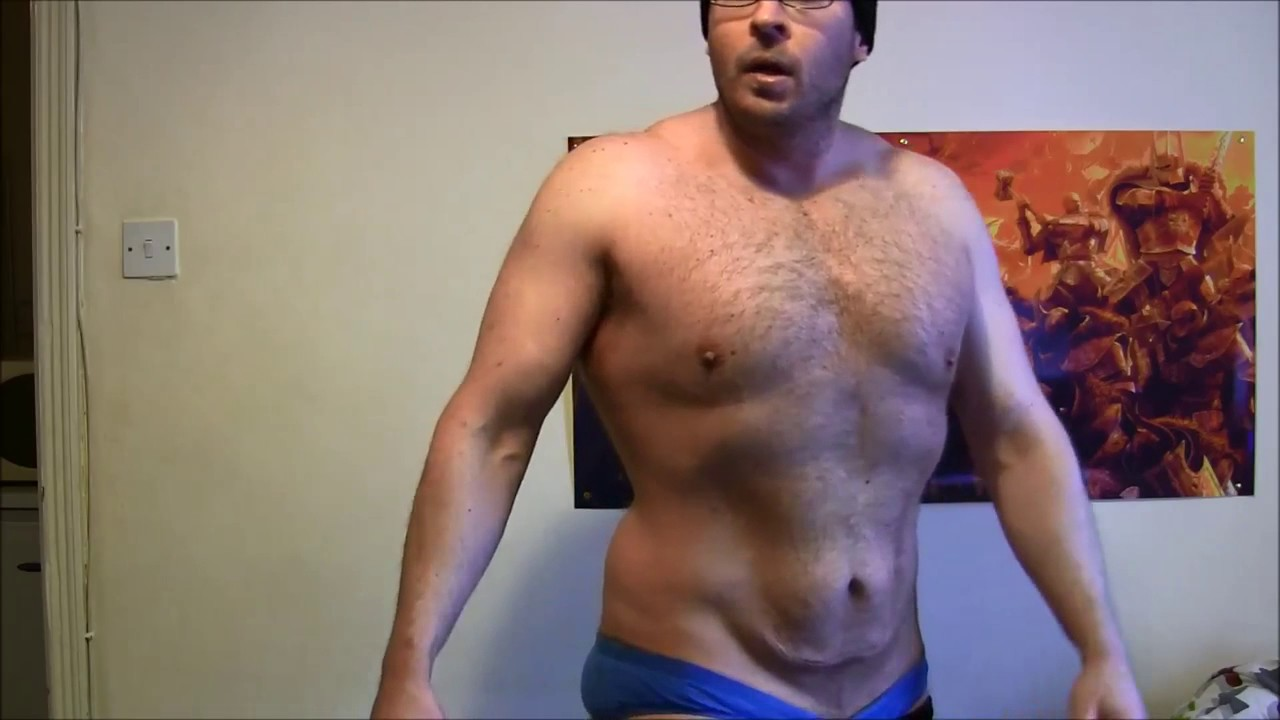 By Request Physique Update 3 Weeks Into Cut Still A Fat Hairy Powerlifter  NSFW