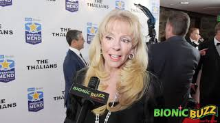 Laura McKenzie Interview at The Thalians Hollywood Holiday Spectacular