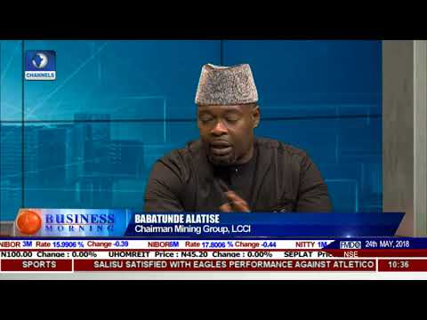 Expert Advocates More Support For Mining Sector In Nigeria Pt.1 |Business Morning|