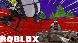 I AM GOING TO WAR WITH A HELICOPTER in ROBLOX MILITARY WARFARE TYCOON