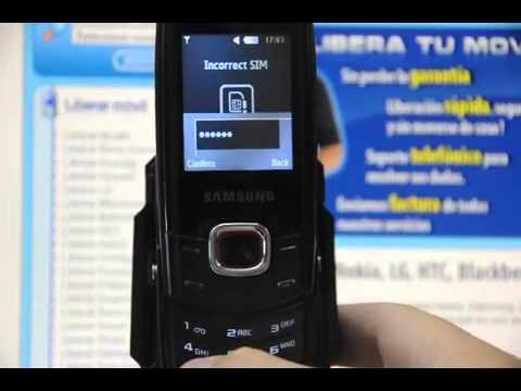 Liberar Samsung C5130, cómo desbloquear Samsung C5130 de Movistar Movical Net