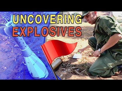Marines Safely Dispose of Explosives in Morocco