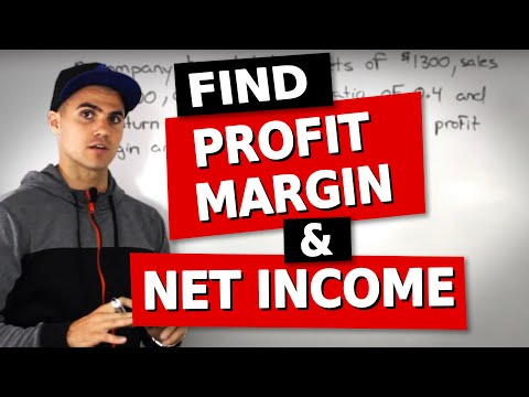 FIN 300 - Dupont Identity (finding profit margin and net income) - Ryerson University