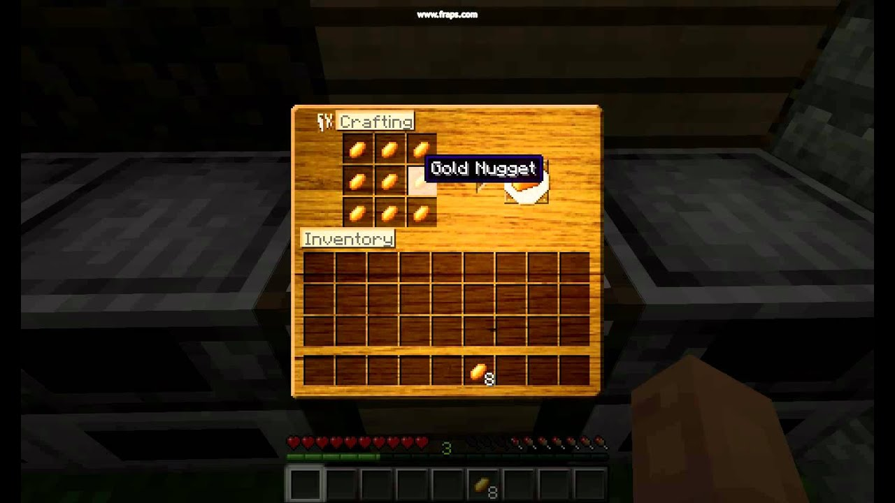 Minecraft The Use Of Gold Nuggets