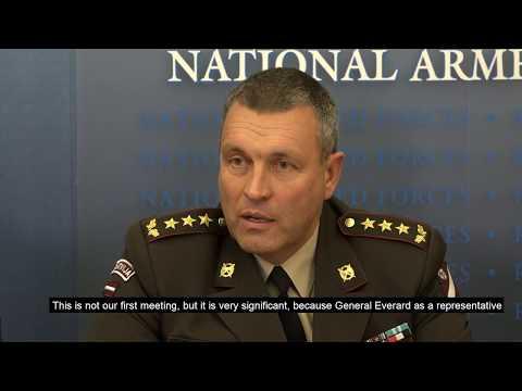 """NATO vingrinājuma """"Steadfast"""" preses konferences video ieraksts"""