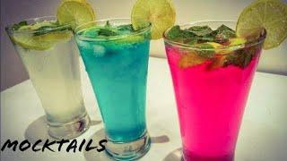3 Mocktails | Refreshment drinks | Easy quick best mocktails