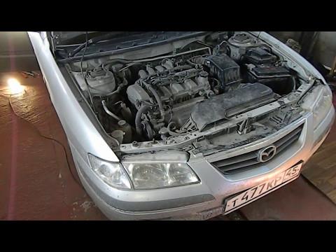 Mazda Capella wagon как добраться до бензонасоса.