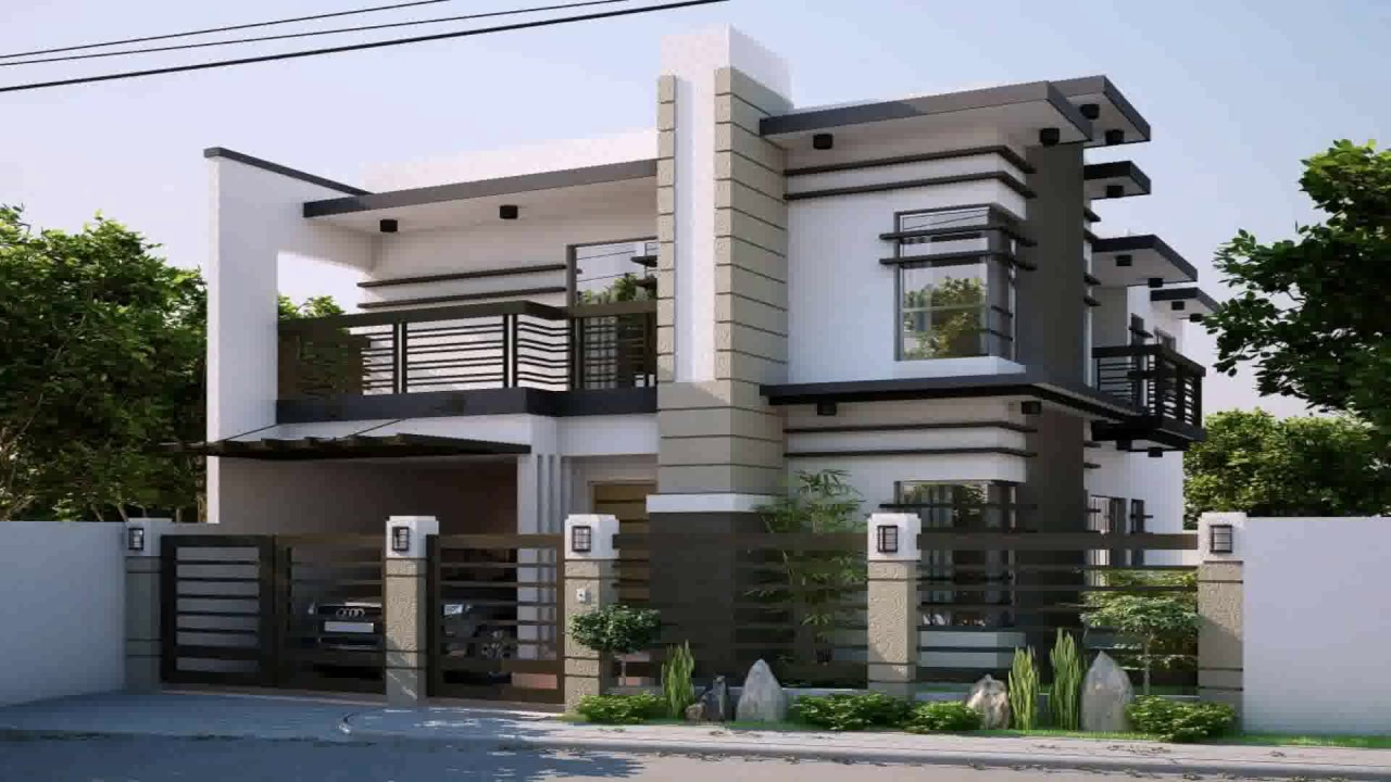 Simple apartment design in the philippines youtube for Simple townhouse design