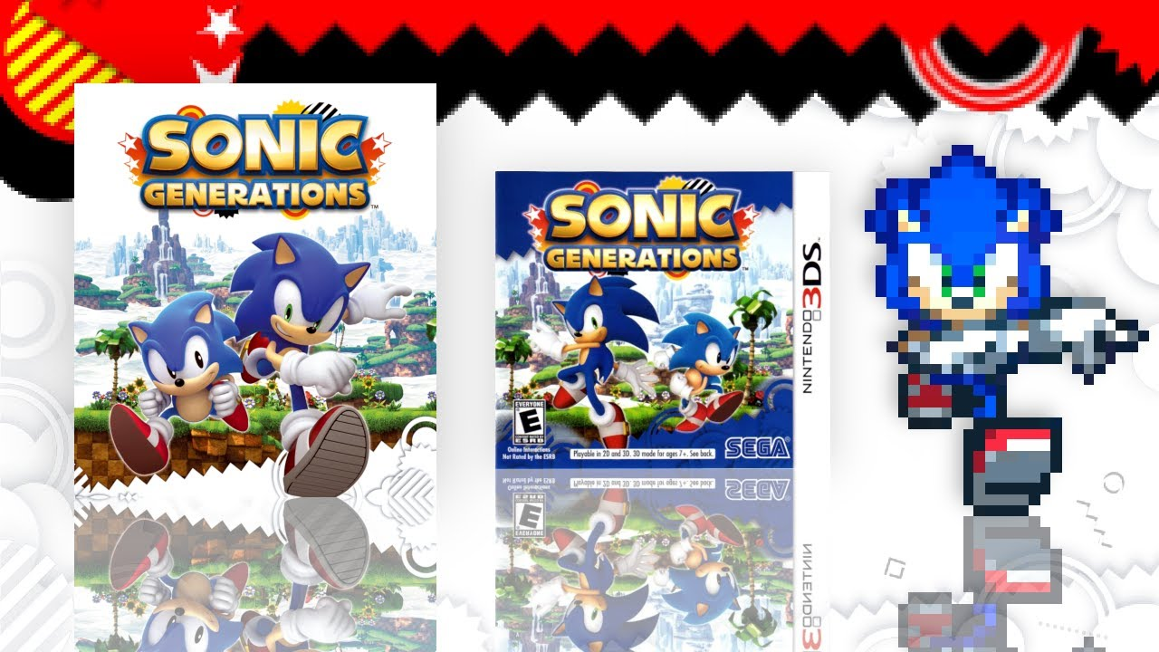 The Sonic Generations Collection (3 Versions)