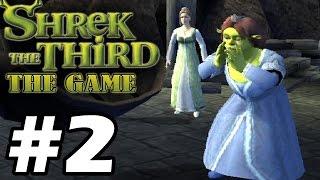 Прохождение Шрек Третий / Shrek The Third - Серия 2 - В поисках Арти.