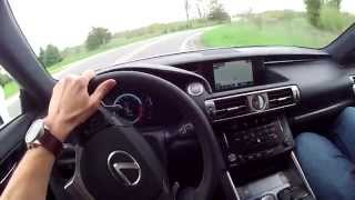 2014 Lexus IS 350 F Sport - WR TV POV Test Drive