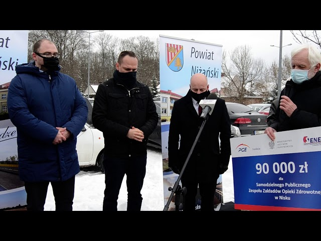PGE wsparła niżański szpital