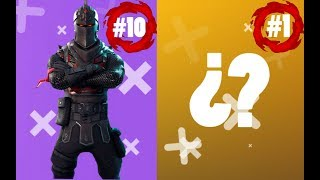 The 10 best skins in Fortnite 2019! Top 10