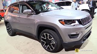 2017 Jeep Compass Limited - Exterior and Interior Walkaround - Debut at 2016 LA Auto Show