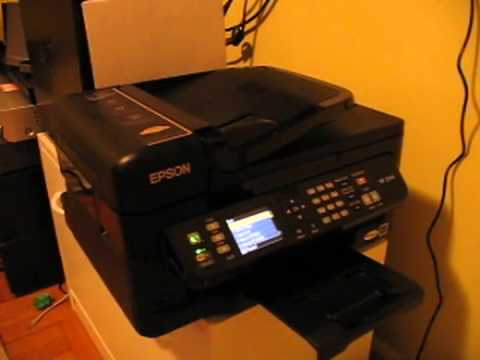 Видео Epson workforce wf-2650 drivers