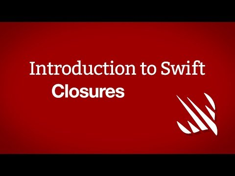 Introduction to Swift: Closures thumbnail