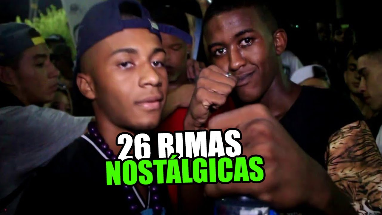 26 RIMAS NOSTÁLGICAS DA BATALHA DO TANQUE! (LEGENDADO)