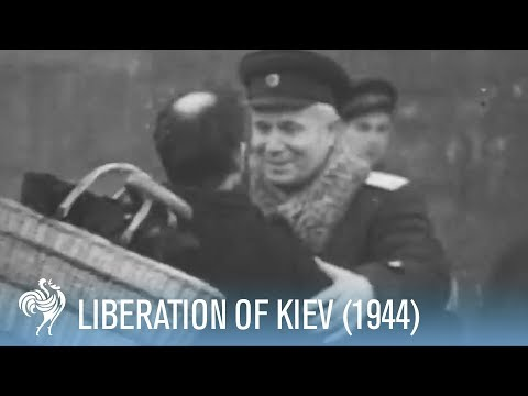 Kiev Liberated from Nazi Rule (1944)   War Archives