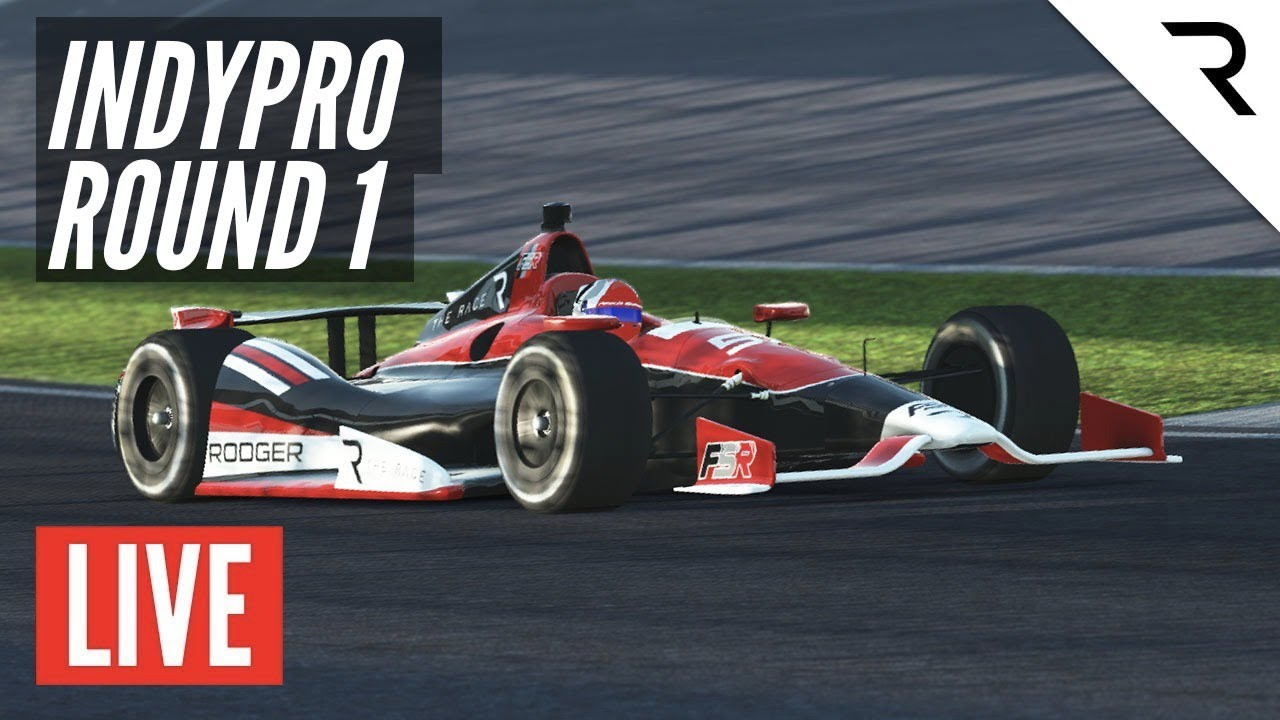 Rd.1 Indianapolis GP14 - The Race IndyPRO Championship by FSR