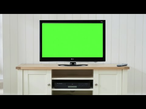 Living Room With Television | Green Screen Free Footage #5 - YouTube