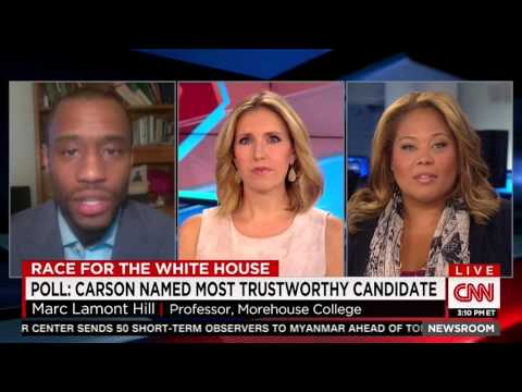 Tara Setmayer on CNN Newsroom w/Poppy Harlow discussing Ben Carson vs. Media