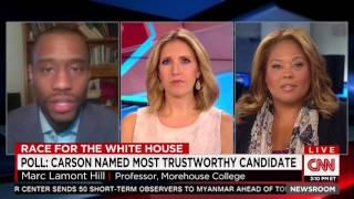 Tara Setmayer on CNN Newsroom w/Poppy Harlow discussing Ben Carson vs. Media