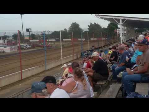 USAC Sprint Car Heat 2  Terre Haute Action Track