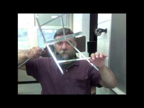 How to put a folding music stand together