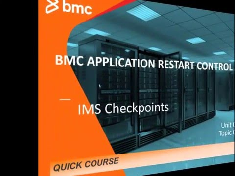 APPLICATION RESTART CONTROL - IMS Checkpoints