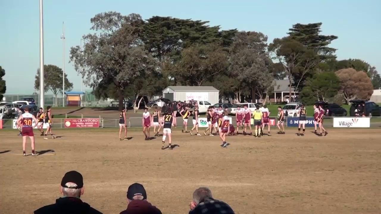 Rd 18 BFL - Torquay vs. Newcomb Ball Ups