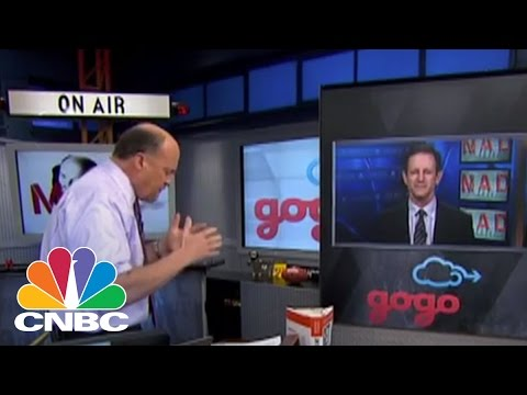 Sky-Fi Provider Gogo CEO Michael Small | Mad Money | CNBC