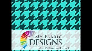 Creating a Houndstooth Pattern with the Creator Tool!