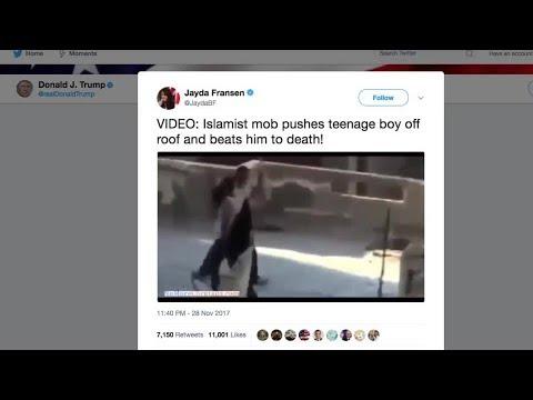 Trump Posts Anti-Muslim Videos   Los Angeles Times thumbnail