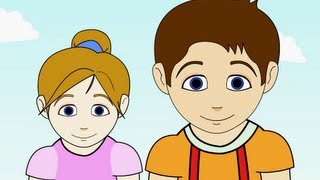 Jack and Jill Nursery Rhyme | Cartoon Animation Songs For Children