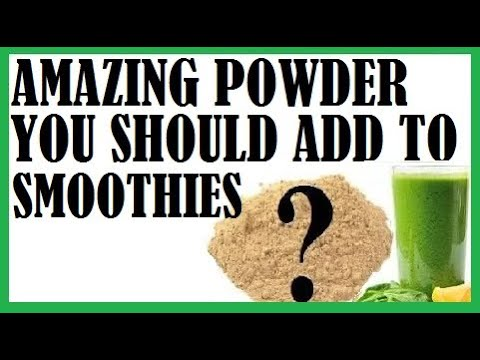 Amazing Powder You Should Add To Your Smoothie-Dr Michael Greger